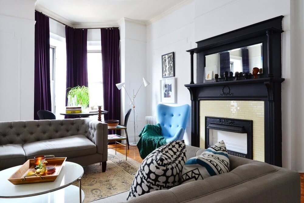 Design-Loving Couple Inject Personal History Into Crown Heights Home