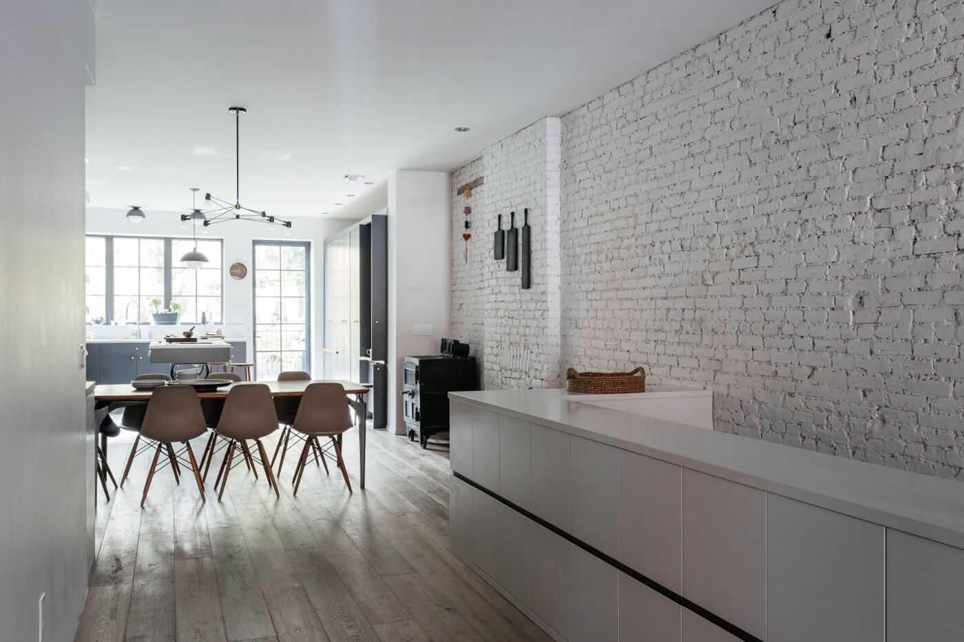 Interior Design Ideas Brooklyn Townhouse Renovation Peter and Lovleen Cavanagh
