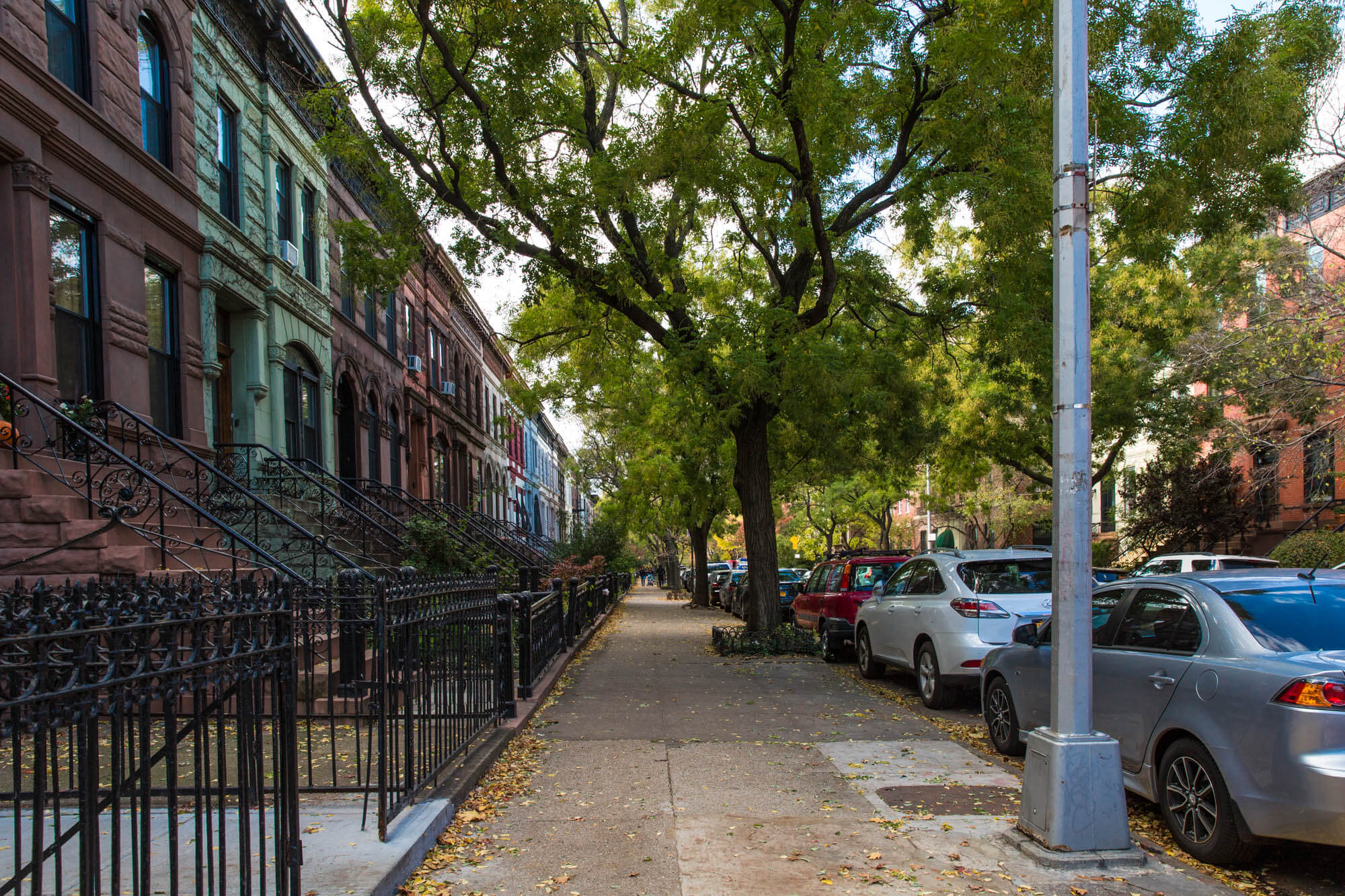 Row House Brooklyn Architecture History