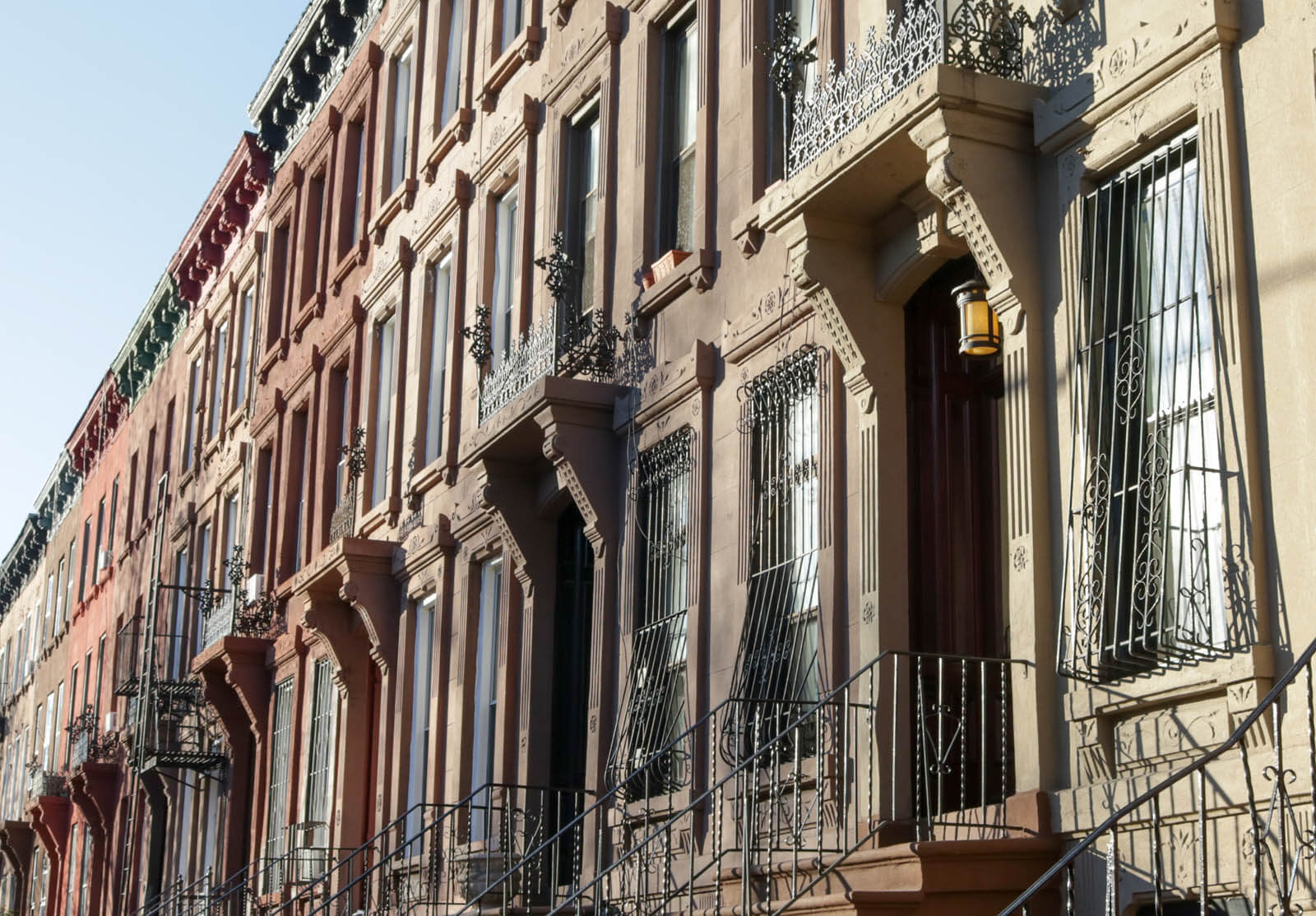 brownstone brooklyn architecture charles lockwood bedford stuyvesant