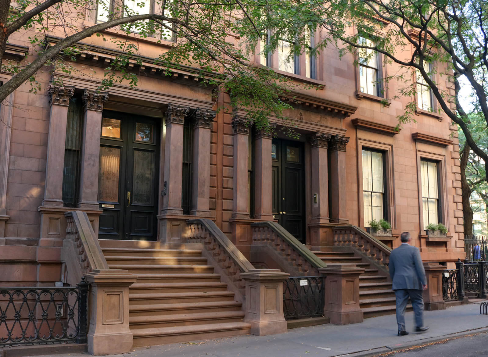 brownstone brooklyn architecture charles lockwood pierrepont place