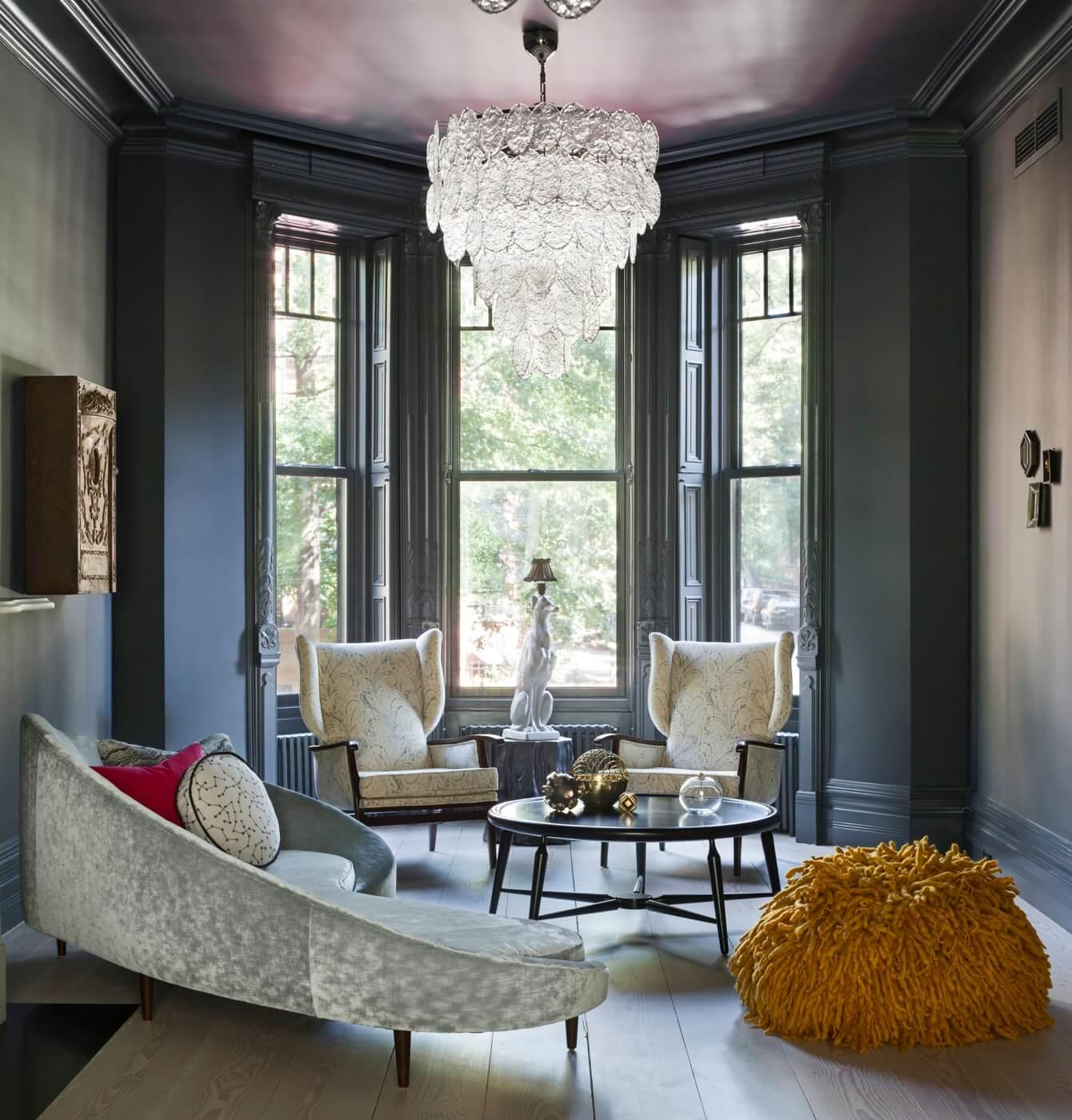Interior Design Ideas Brooklyn Townhouse Exudes Dusky Glamour