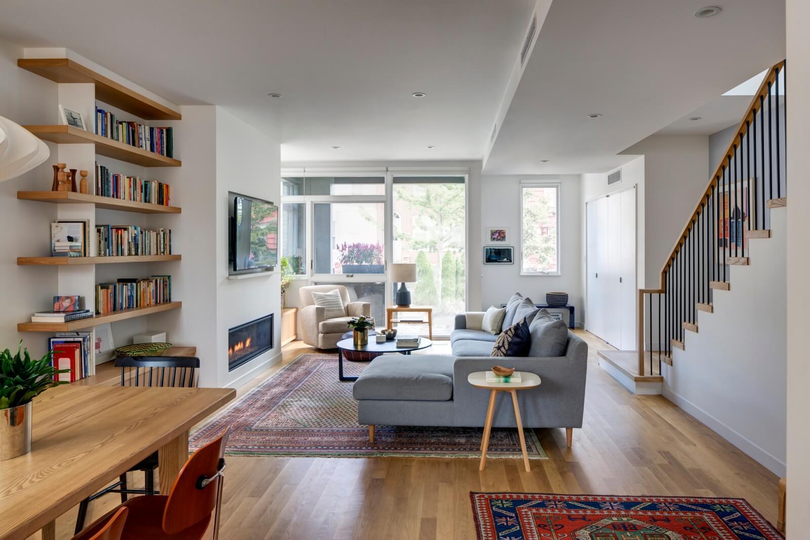 The Insider Windsor Terrace House Goes Radically Modern With Cedar Siding Glazed Corners