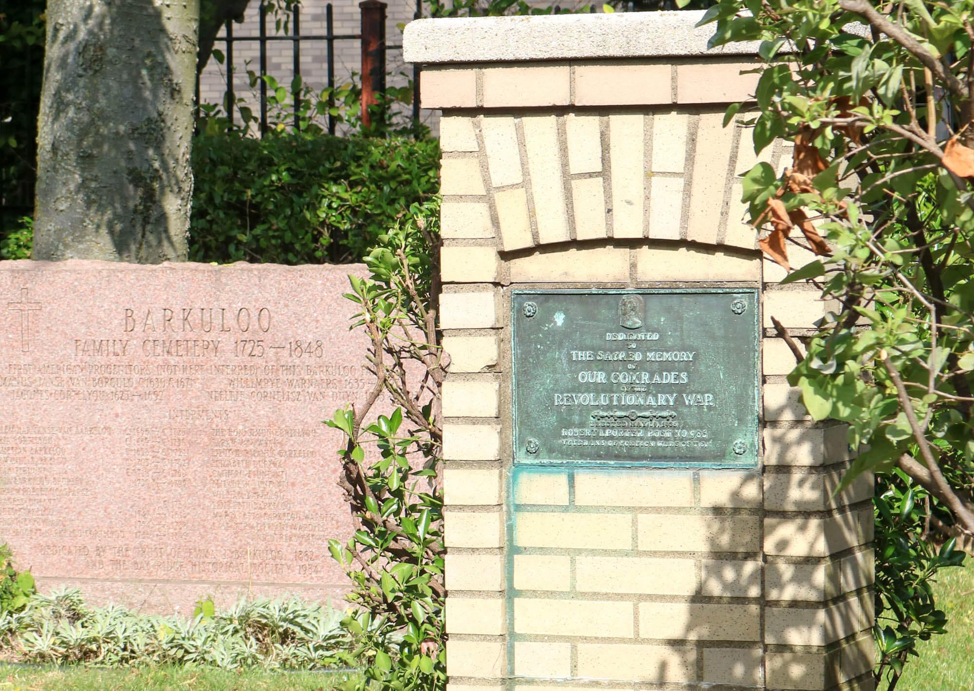 brooklyn history barkaloo cemetery narrows avenue bay ridge