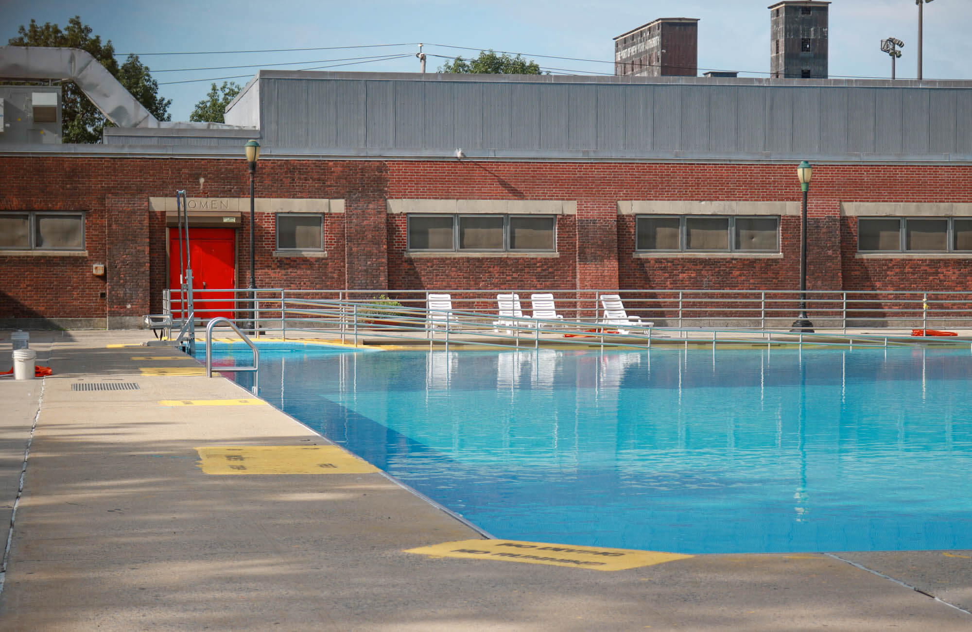 brooklyn architecture red hook pool play center 155 bay street