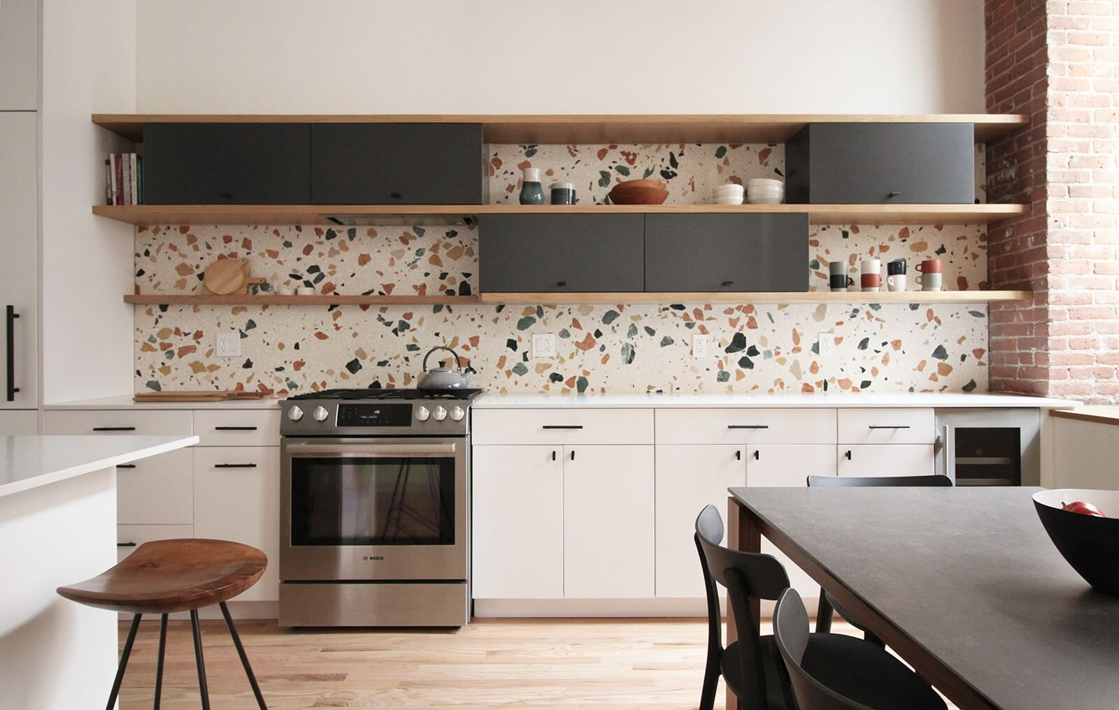 The insider terrazzo delivers graphic punch in newly for Design terrazzo