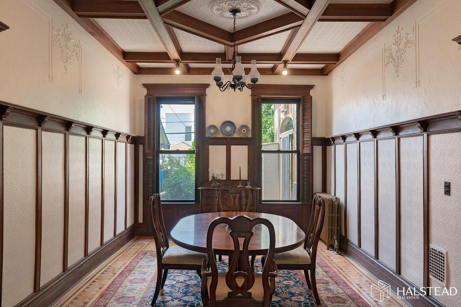 Well-Preserved Bay Ridge Townhouse With Stained Glass, Fancy Dining Room Asks $1.275 Million