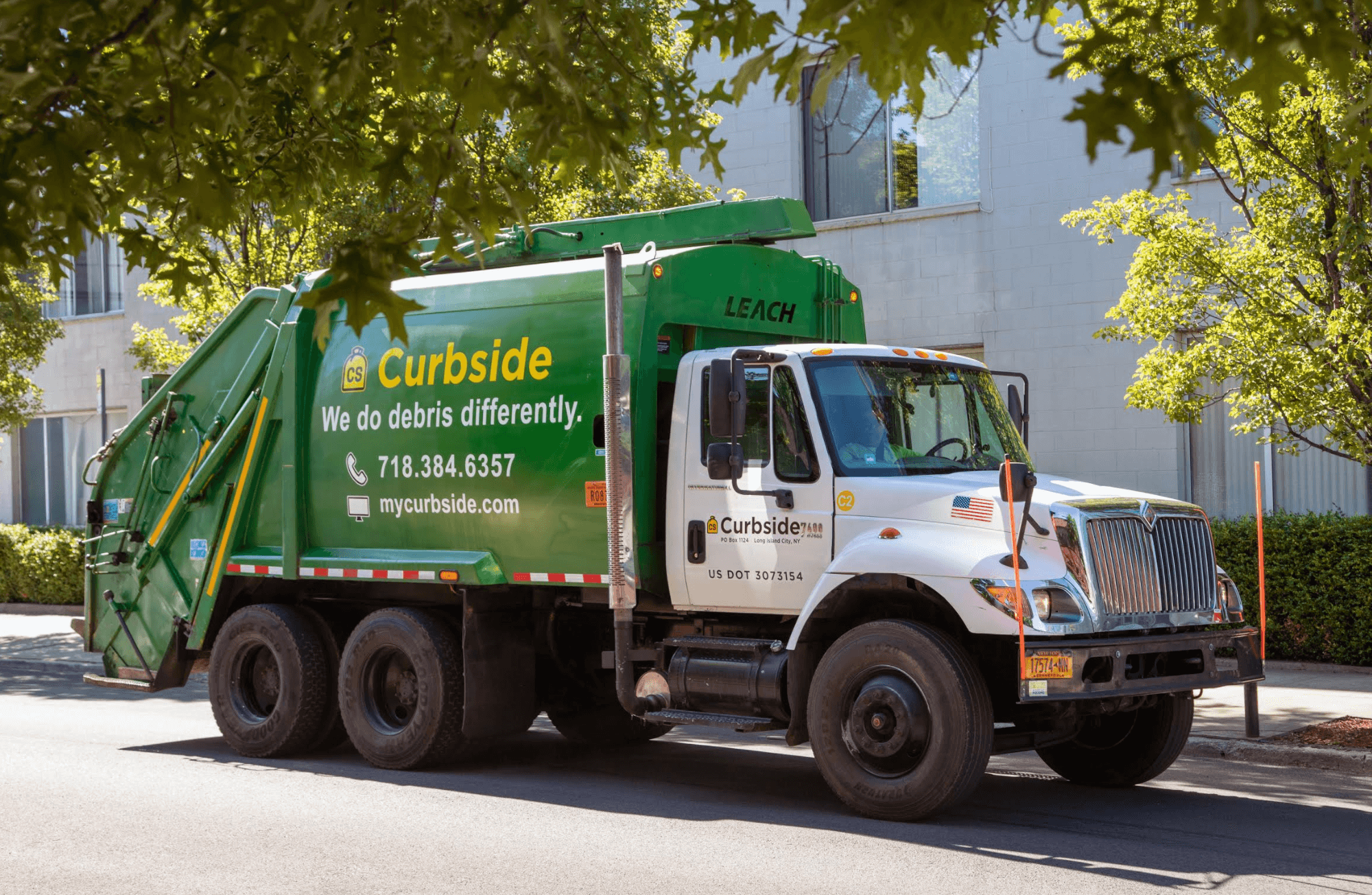 curbside waste removal