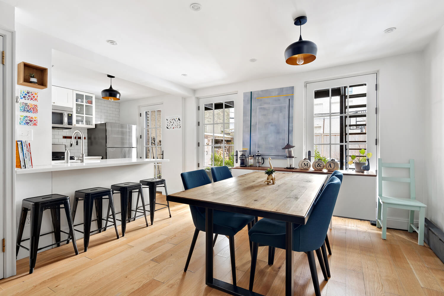 interior of 96 fort greene place