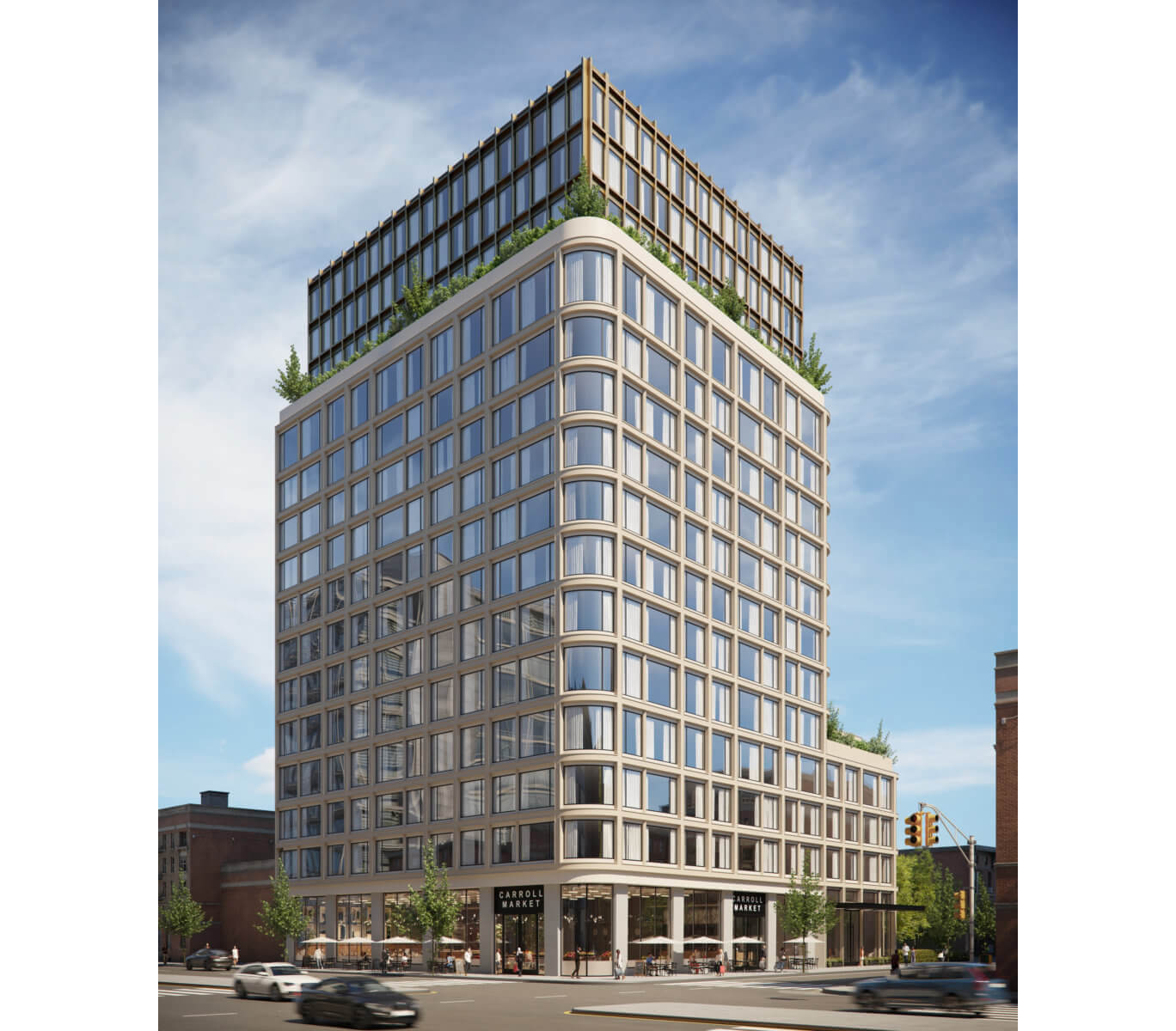 rendering of proposed buidling at 272 4th avenue